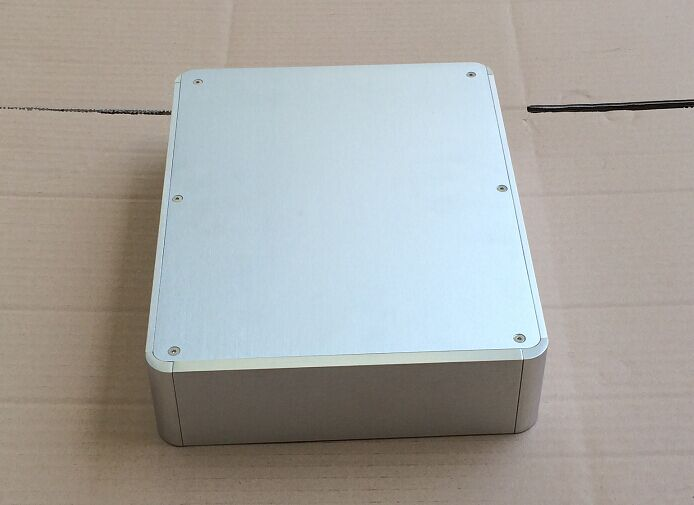 E-029 QUEENWAY CNC BZ2106 Full Aluminum Audio chassis/ power Amplifier Case/headphone Amp/DAC Case 211.5*60*272mm queenway 2210 new l panel cnc full aluminum chassis audio box power amplifier case 362mm 220mm 100mm 362 220 100mm