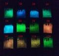 50 g/lote Recubrimiento de Fósforo En Polvo Luminoso BRICOLAJE Polvo Fotoluminiscente, Resplandor en el Polvo Oscuro Pigmento. para Uñas Polisj Cuerpo pintura