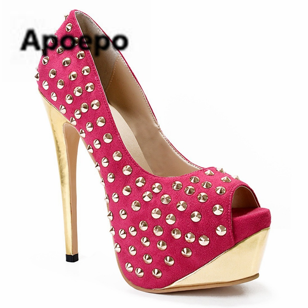 Apoepo brand women shoes peep toe mixed colors summer pumps 2018 gladiator shoes stiletto high heels pumps tacones mujer sapatos apoepo brand 2017 zapatos mujer black and red shoes women peep toe pumps sexy high heels shoes women s platform pumps size 43