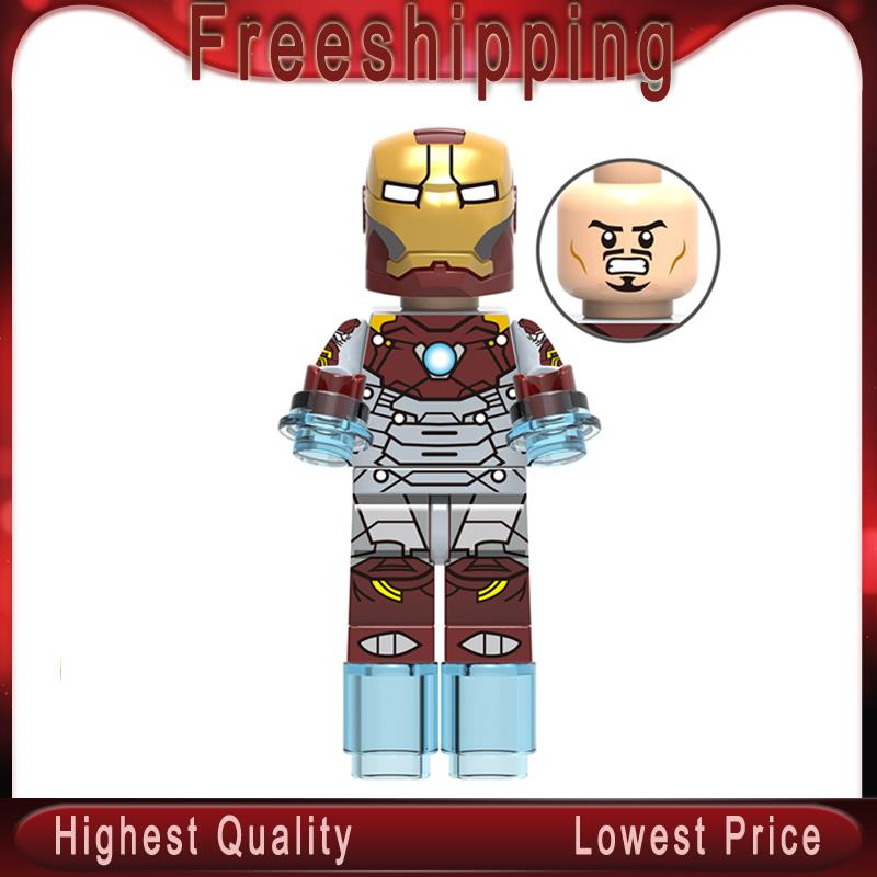 Marvel Super Heroes Infinity War Iron Man Avengers Building Blocks Bricks Toys Action Figures For Children Toys Gifts Xh976