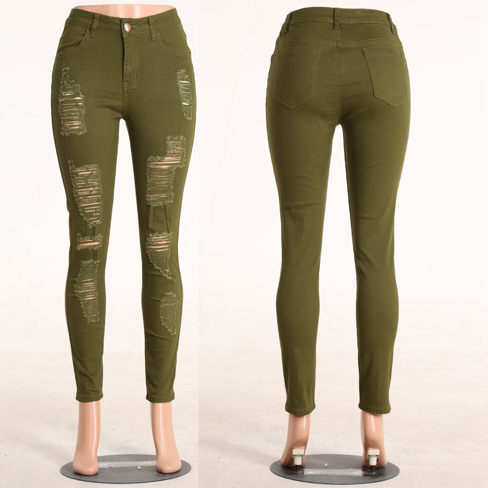 High Waisted Green Jeans Photo Album - The Fashions Of Paradise