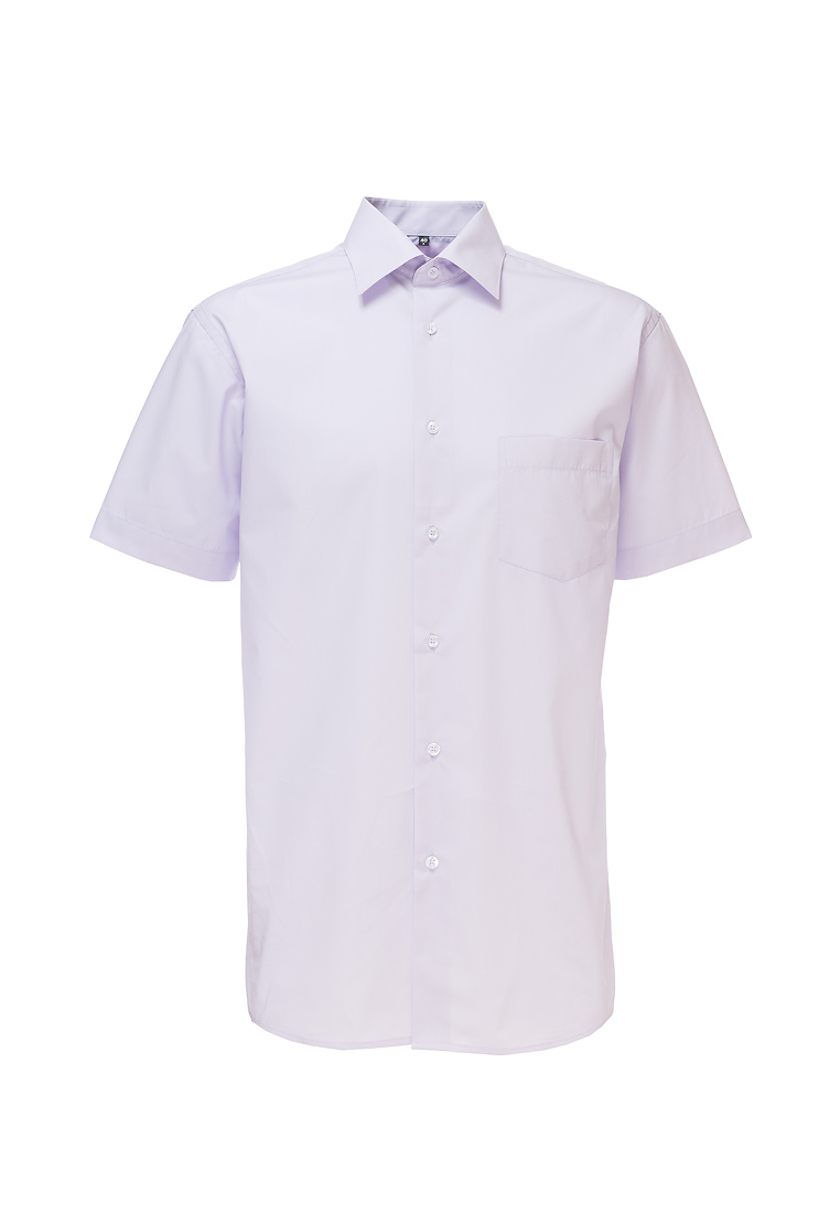 Shirt men's short sleeve GREG Gb720/309/LV/Z Lilac 3d letters and banknote printed round neck short sleeve men s t shirt