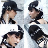NewPunk Letter Female Summer Personality HARAJUKU Quoined Hiphop Cap Baseball Cap