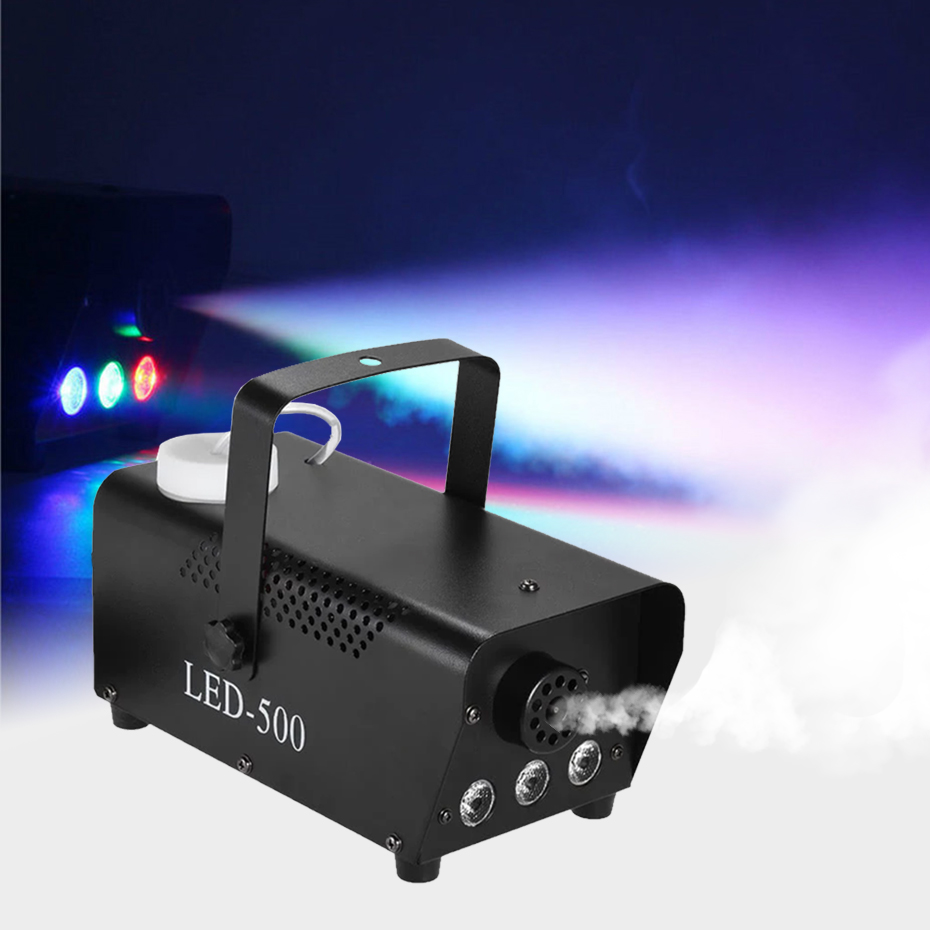 Image 4 - ALIEN 400W Mini Smoke Fog Machine Disco DJ Party Holiday Wedding Bar Christmas Wireless Remote Control Fogger With RGB LED Light-in Stage Lighting Effect from Lights & Lighting