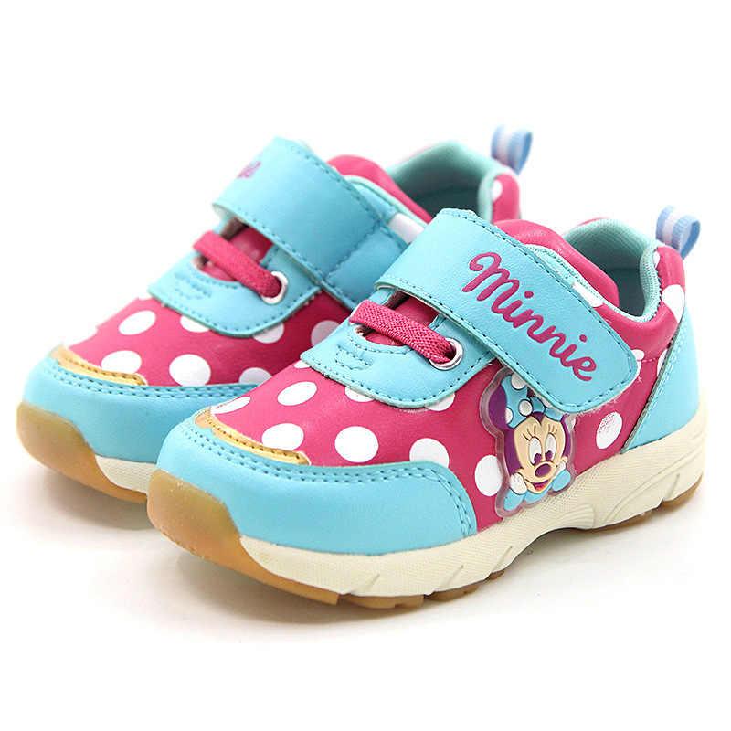 7375a422a Disney обувь для детей девочек кроссовки девушка Caterpillar в полоску обувь  осень 2018 Todder анти-