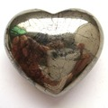 HOT 1PC 45mm Natural Pyrite Heart Healing  Specimens exquisite gift or home decoration Free Shipping