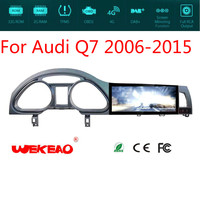 Wekeao 10.25 Auto GPS Navigation Player car DVD For Audi Q7 Support Stereo Radio Multimedia Audio wifi Bluetooth Android 5.1