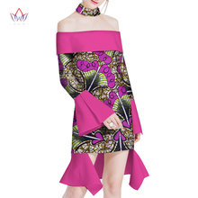 2018 summer Dresses Plus Size african dresses for women strapless women  african clothing knee length everyday 6xl dress 885b28d7e1c3