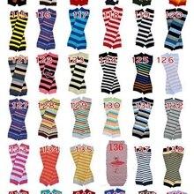 Грелка для рук шеврон, Детская грелка для ног, Детские гетры с черепом, рождественские леггинсы для младенцев, колготки на Хэллоуин, тыква, 100 пара/лот