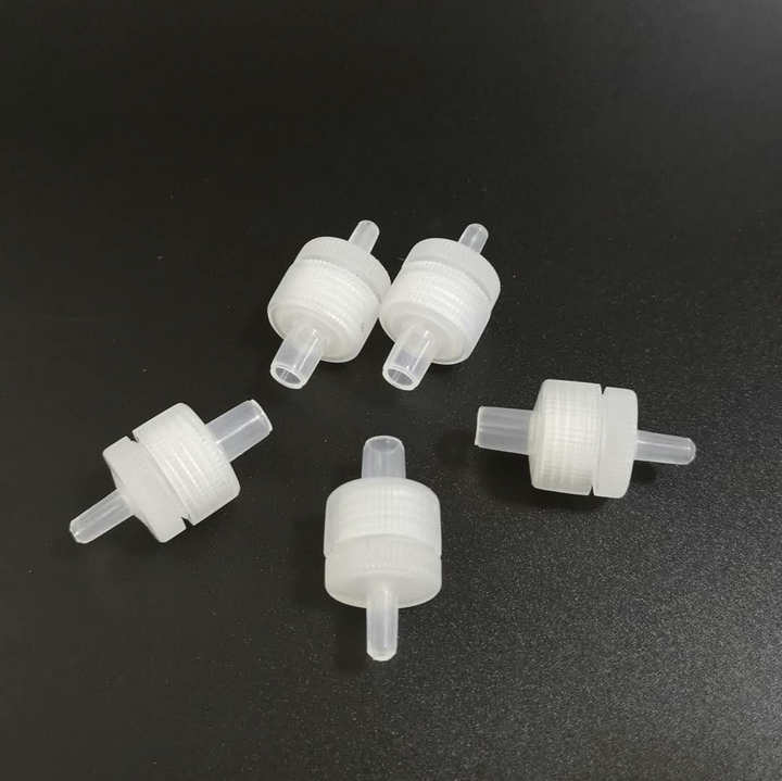 30 pcs lote reuseable filtro de seringa de plastico titular para a membrana 13mm