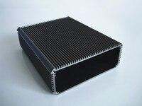 AluminuAluminum Shell PCB Aluminum Enclosure Chassis Heat Radiation Box 120 45 150mm
