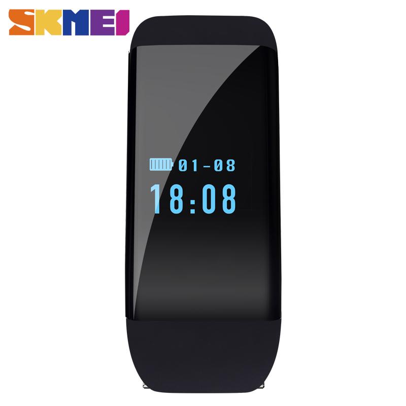 Prix pour SKMEI de Fréquence Cardiaque Étanche Smart Bracelet Bracelet D21 Fitness Tracker De Bain Bande Sport Fréquence Cardiaque Pour Android iOS
