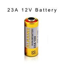 5 pçs/lote 23A12V Bateria Pequena Bateria 23A 12 V 21/23 A23 E23A MN21 MS21 V23GA L1028 Bateria Alcalina Seca