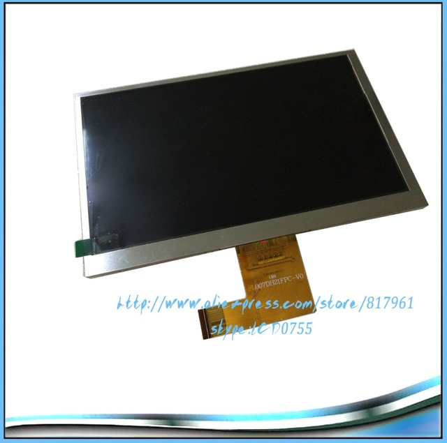 Original and New 7inch 41pin LCD screen SL007DH21FPC-V0 for Tablet PC free shipping