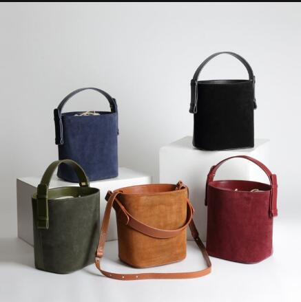 INTO style 2018 new design bag bucket bag women s fashion vintage handbags
