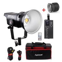 Aputure LS C120d 120D II Daylight 180W LED Continuous V Mount Video Light,Studio LED Lighting with Aputure Fresnel 2X Lens Mount