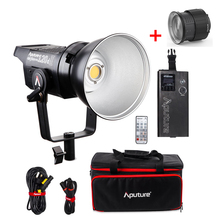Aputure LS C120d 120D II Daylight 180W LED Continuous V-Mount Video Light,Studio Lighting with Fresnel 2X Lens Mount