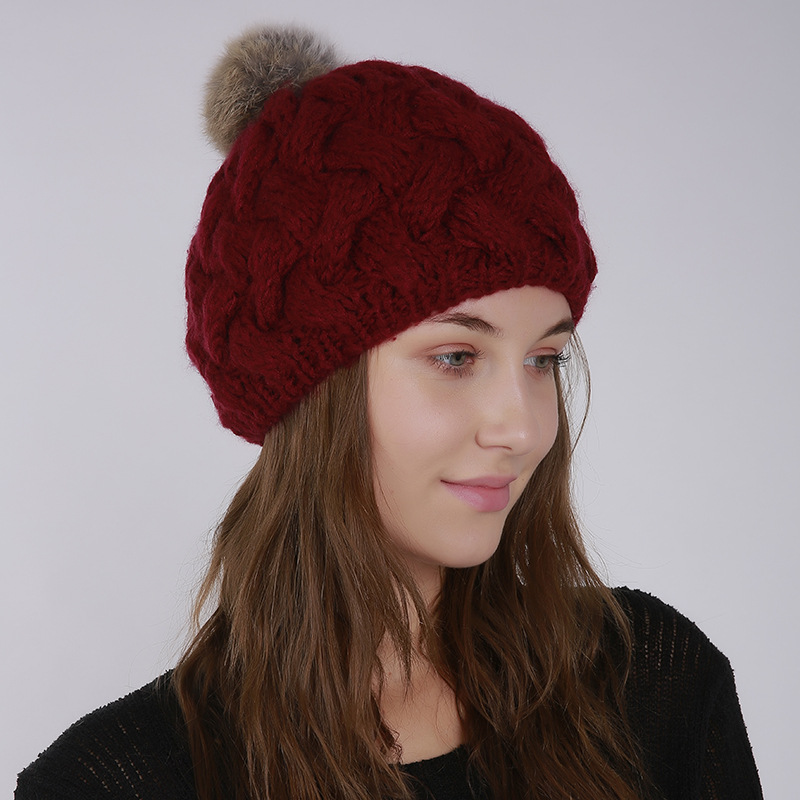 2019 New Fashion Hat For Women Casual New Cotton Hat Cap Winter Hat For Women pata5-6(China)