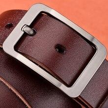 [DWTS]Cow leather belt men male genuine leather strap belts