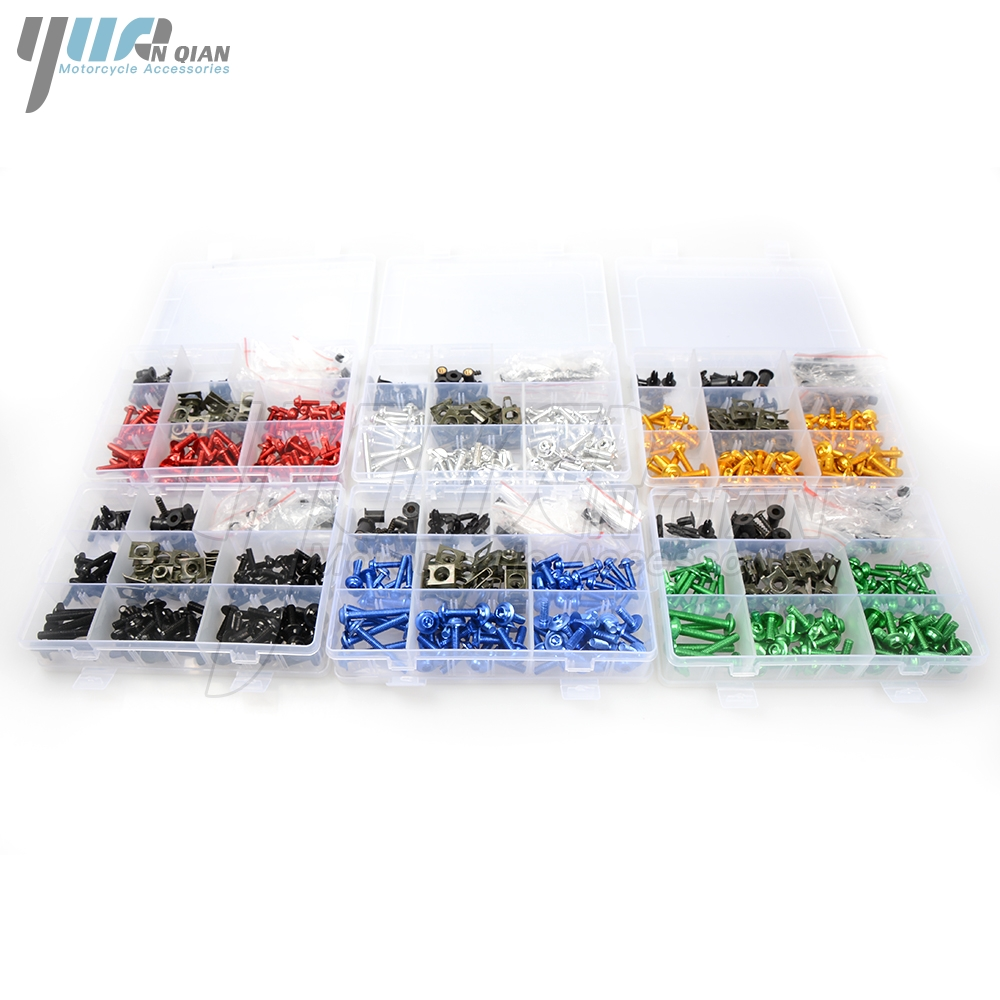 Motorcycle Scooters Fairing Body Work Bolts Nuts Spire Speed Fastener Clips Screw for honda CB400 CBR600RR CBR1000RR Gold Wing