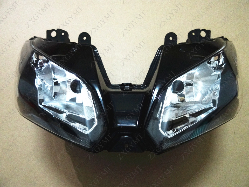 Headlight Head Light for KAWASAKI Ninja 300 Zx300r Ex300r EX 300 ZX 13 14 15 2013 2014 2015Headlight Head Light for KAWASAKI Ninja 300 Zx300r Ex300r EX 300 ZX 13 14 15 2013 2014 2015