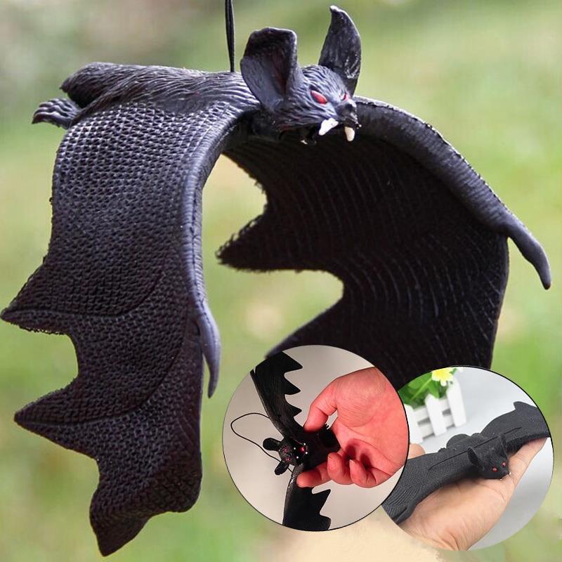 Jokes Gags Pranks Maker Trick Bat Toy Funny Novelty Gadgets Decoration Props Simulation Animals Bat Toy Toys & Hobbies