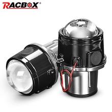 Metalen 2.5 Inch Bi Xenon Hid Auto Styling Mistlamp Projector Lens Hi/Lo Universal Fog lamp Auto Retrofit H11 Hid Led lampen