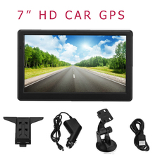 7″ HD Touch Screen Portable Car GPS Navigation 128MB RAM 4GB FM Video Play Car Navigator +Free Map
