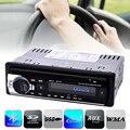 Estéreo Rádio do carro Jogador Telefone Bluetooth AUX-IN MP3 FM/USB/1 Din/controle remoto Para O Iphone 12 V Áudio Do Carro Auto