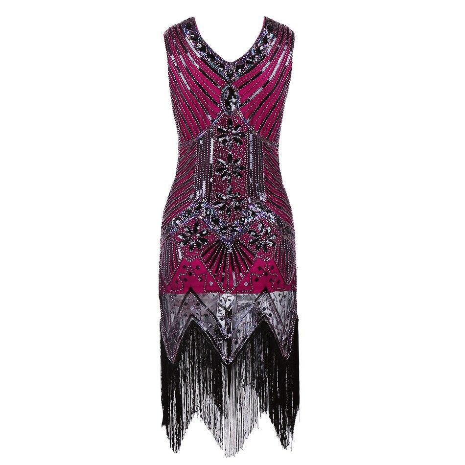 Dorable Gran Gatsby Inspirado Vestidos De Fiesta Modelo - Vestido de ...
