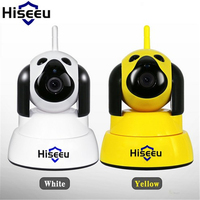 Hiseeu Home Security IP Camera Wi Fi Wireless Smart Dog Wifi Camera Surveillance 720P IR Night