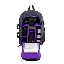 GTF SLR DSLR Камера рюкзак USB зарядка Многофункциональный Водонепроницаемый фотографии сумка унисекс Открытый Дорожная сумка для Камера плеча