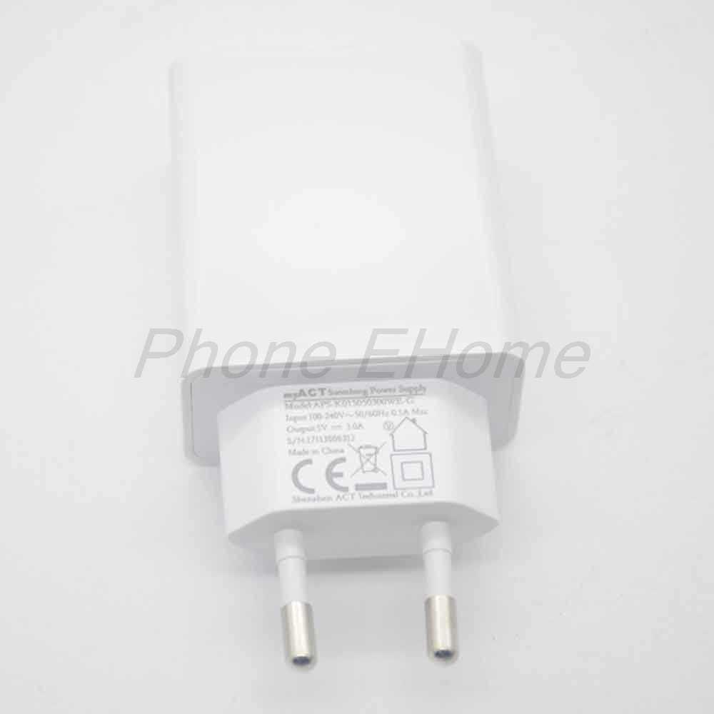 Original rapide 3.0A chargeur de voyage prise ue adaptateur + câble USB pour Oukitel K6 MT6763 Octa Core livraison gratuite