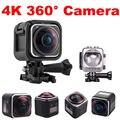 Frete grátis! 4 K HD Panorâmica de 360 Graus Da Câmera 16MP 1440P @ 30fps DV Câmera de Ação À Prova D' Água