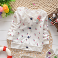 (1piece /lot) 100% cotton 2016 New Autumn  Lollipop happy start girls jacket 73.80.90.100, 1-3yearold