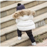 Warm Winter for Children Pure Cotton Children's Coat Thickened with Cap Garment for Toddlers Kids Winter Jacket Winter
