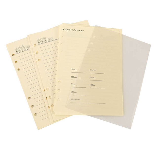 BK 56 write plastic cover glazed printing paper blank lined notebook