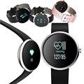 H09 Banda de Frecuencia Cardíaca Bluetooth Inteligente Monitor de Presión Arterial de Fitness Pulsera Rastreador Pasómetro Reloj Pulsera Para iOS Android