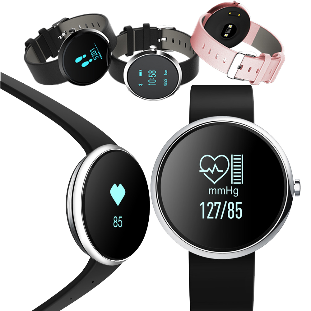 H09 Bluetooth Smart Band Heart <font><b>Rate</b></font> <font><b>Monitor</b></font> Blood Pressure Fitness Tracker Wristband Passometer Bracelet Watch For iOS Android