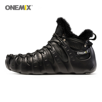 Onemix Winter Men S Wool Warm Outdoor Shoes Non Plastic Sports Shoes Autumn And Winter Women