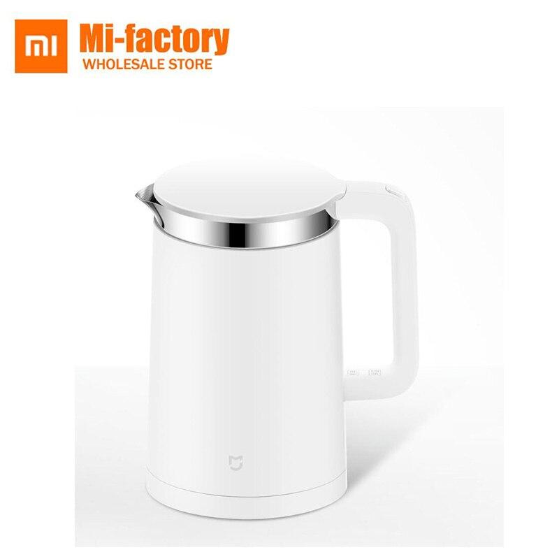 Оригинальный Xiaomi быстрая Кипения Электрический чайник 1.5l Нержавеющаясталь Xiaomi чайник 12 часов температура воды smart Управление