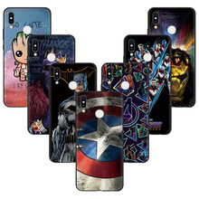 Coque Case For Huawei P30 P20 Mate 20 10 Pro P8 P9 P10 Lite 2017 TPU Soft Marvel Avengers For Huawei P Smart 2019 Case Cover(China)
