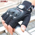 Pro biker Motocross Off-Road Racing Gloves Motocicleta Motorcycle Riding Half Finger Gloves Summer Outdoor Sports