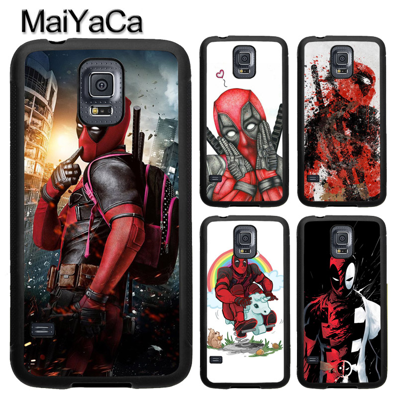 MaiYaCa DC Comic Deadpool Movie Poster TPU Case For Samsung Galaxy S9 S8 Plus S4 S5 S6 S7 Edge Note 4 5 Note 8 Cover Back Case