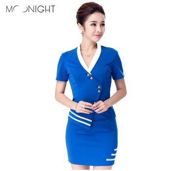 MOONIGHT Airline stewardess uniform  Women Sexy Lingerie cosplay Air Hostess Airline Stewardess uniform Sexy costumes girl