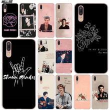 Mllse Shawn Mendes Pink Art Clear Case Cover untuk Huawei P30 P20 P10 P9 P8 Lite 2017 P30 P20 pro Mini P Smart Plus Cover(China)