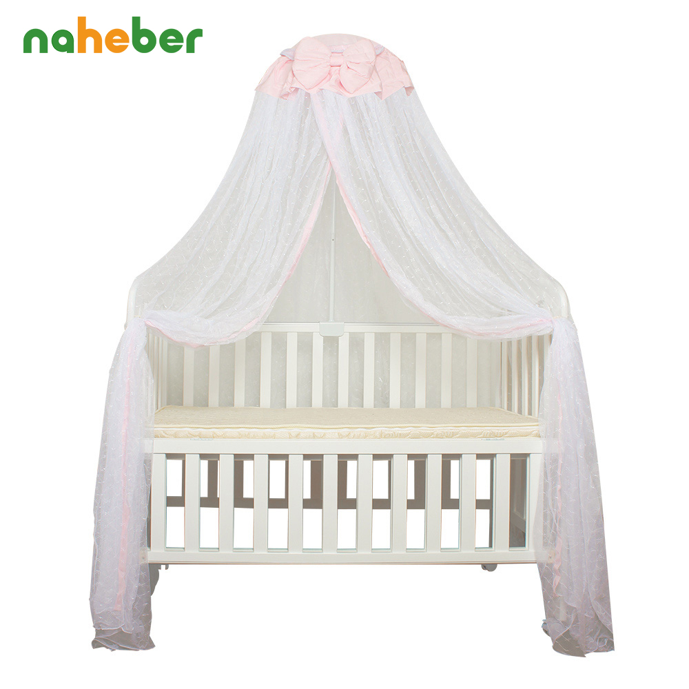 Baby Crib Mosquito Net For Infants Portable Newborn Cot Folding Canopy Boys Girls Summer Netting Portector Children's Bed Wigwam mosquito nets curtain for bedding set princess bed canopy bed netting tent