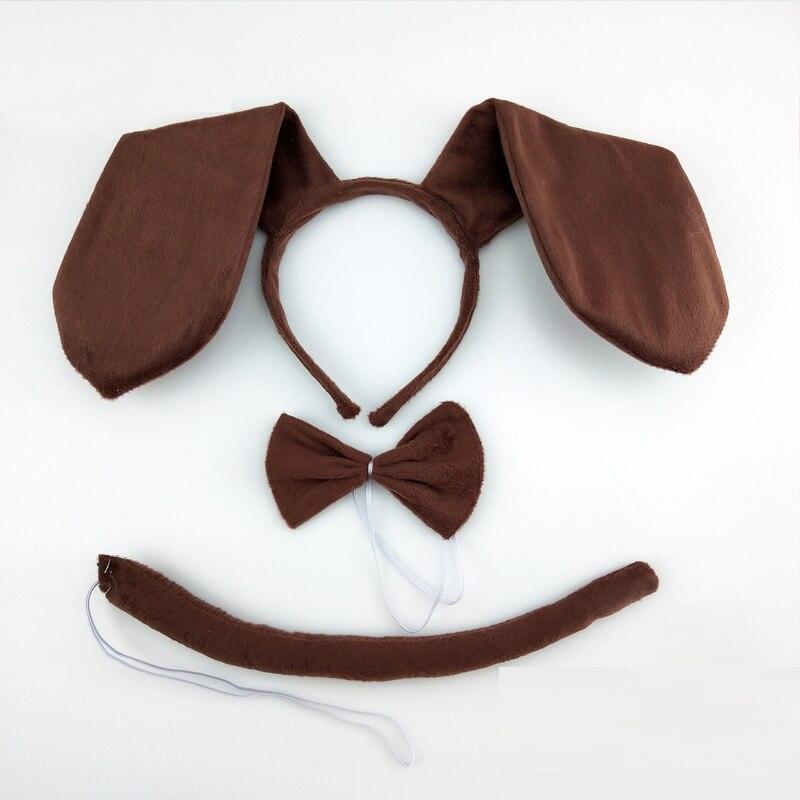 Cute Dog Ears Headband For Girl Hairband Kid Hair Accessories For Women Animal Cartoon Headband Cosplay Costume