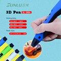 Низкотемпературная 3D печатная ручка SL-300A интеллектуальная PLA/ABS/PCL 3D Ручка для рисования DIY живопись игрушки для рисования подарок