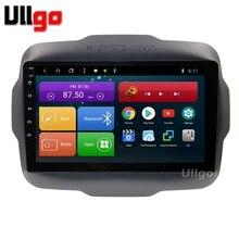 9 дюймов Android 8,1 Автомагнитола для Jeep Renegade Autoradio Центральный Мультимедиа с BT Радио RDS зеркало-Ссылка Wifi 16 Гб карта